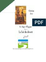 Christian Jacq - Juíz Do Egito II - A Lei Do Deserto