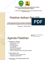 Pelatihan Aplikasi WebGIS