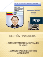 Gestion Financiera Adm Del Ctrabajo y Act Corrientes