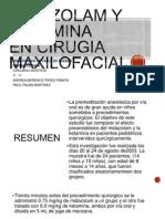 Farmacologia - Midazolam y Ketamina en Cirujia Maxilofacial