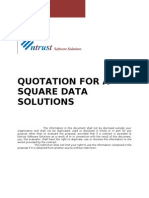 Quotation for Asquare Data Solutions