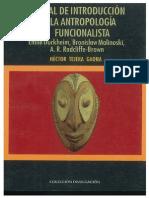 Antropologia Funcionalista Libre