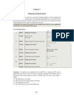 6 Disposal of Fixed Assets