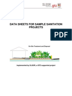 Sample Sanitation Systems GTZ