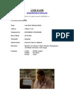 Amr Badr Resume