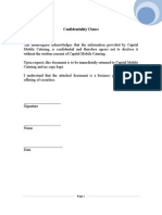 Mobile Catering Business Plan Template