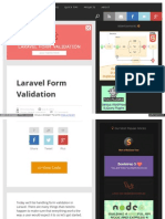 Scotch Io Tutorials Php Laravel Form Validation