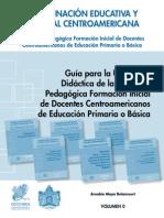 Volumen 0 - Guía Para La Utilización Didáctica de La Colección Pedagógica Formación Inicial de Docen