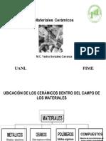 (1) Presentación Materiales Cerámicos