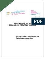 MANUAL 6 de Procedimientos de Relaciones Laborales