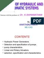Hydraulic Power Generators