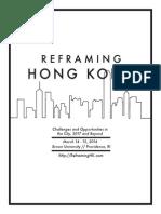 Reframing Hong Kong Conference Packet