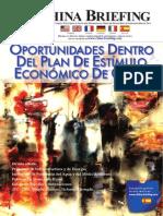 Oportunidades Dentro Del Plan de Estímulo Económico de China (China Briefing March 2009)