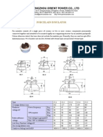Orient-catalogue for Porcelain Pin Type Insulators