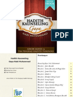 Sampel Hadith Kaunseling Gaya Nabi Muhammad