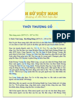 Lịch sử Viêt Nam từ nguồn gốc đến hiện đại