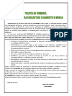 Politica CMSSM 01.06.2014