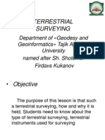 Firdavs - Terrestrial Surveying1