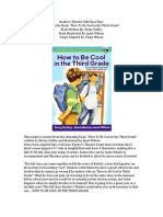 Readers Theatre Class Script How to Be Cool in Third Grade
