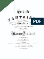 Op 123, Fantazia - Rossini
