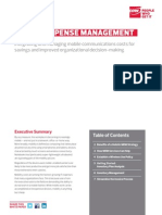 Mobile Expense Management White Paper