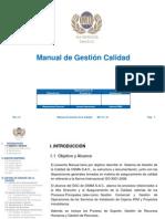 OSMA - Manual de Gestión de Calidad Ver. 01