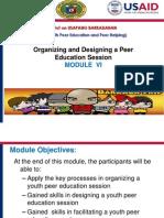 Module 6_ Organzing & Designing Y-peered Session