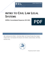 Intro to Civil Law Legal Systems