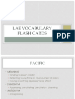 LAE Vocabulary Flash Cards 300 - 433