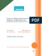 Cardiac Resynchronization Therapy (CRT) Devices, 2012-2018-BRICSS