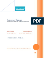 Coronary Stents, 2012-2018 - BRICSS