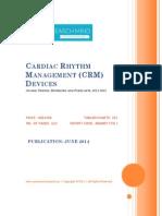 Global Cardiac Rhythm Management (CRM) Devices - 2012-2018