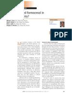 Do We Still Need Formocresol in Pediatric Dentistry