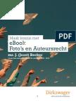 eBook Foto's en Auteursrecht