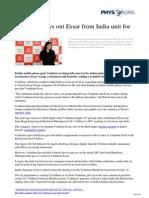 Vodafone Essar India Bn
