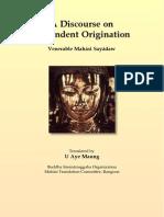 A Discourse on Dependent Origination