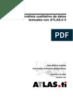 Juan Muñoz Justicia - Análisis Cualitativo de Datos Textuales Con Atlas.ti