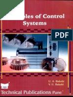 Principles of Control System - Bakshi and Bakshi