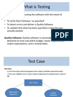 Do's and Dont's in Software Testing