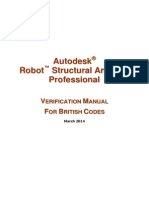 Robot Millenium Verification Manual British Codes