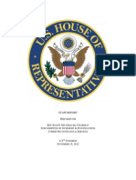 Book 4 - 73 - U.S. House of Representatives Subcommittee Report on MF Global