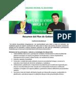 Resumen Plan de Gobierno-dialogo Vecinal El Agustino