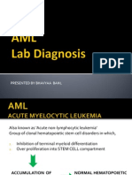 AML- Lab Diagnosis