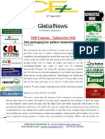 18th August,2014 Daily Global & Exclusive ORYZA E-Newsletter