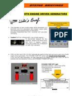 737 B-Loss of Both Engine Driven Generators