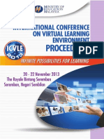Proceedings of the International Conference on Virtual Learning Environment 2013