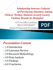Phd Viva Presentation