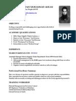 word CV