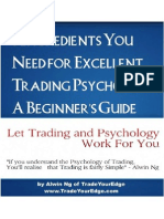 5 Ingredients You Need for Excellent Trading Psychology a Beginners Guide