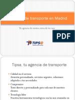 Agencias de Transporte en Madrid